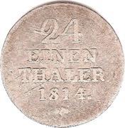 1/24 Thaler - Wilhelm I – revers