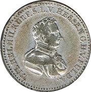 ⅙ thaler Wilhelm II – avers