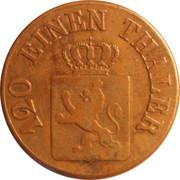 3 Heller - Wilhelm II – avers