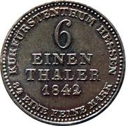 ⅙ Thaler - Wilhelm II – revers