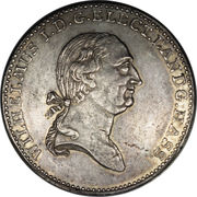 1 Thaler - Wilhelm I – avers