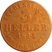 3 Heller - Wilhelm II – revers
