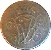 4 Heller - Wilhelm I – avers