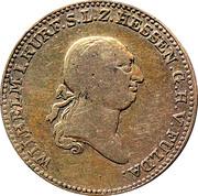 ½ thaler Wilhelm I – avers