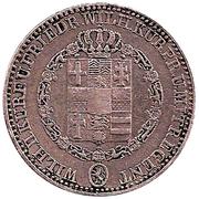 1 Thaler - Wilhelm II und Friedrich Wilhelm I – avers
