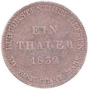 1 Thaler - Wilhelm II und Friedrich Wilhelm I – revers