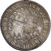 1 Thaler - Wilhelm VI – revers