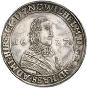 1 Thaler - Wilhelm V – avers