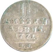 2 Albus - Friedrich II – revers