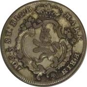 ⅛ thaler Friedrich II – avers