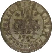 ⅛ thaler Friedrich II – revers