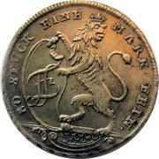 ⅙ thaler Friedrich II – avers