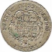 ¼ Thaler - Friedrich II – revers