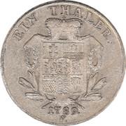1 Thaler - Wilhelm IX – revers