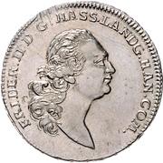 ½ thaler - Friedrich II (Halber Sterntaler) – avers
