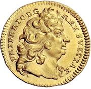 ½ Ducat - Friedrich I. – avers