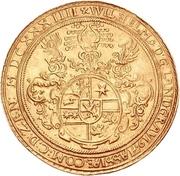 10 Ducat - Wilhelm V. (Gold pattern strike) – avers
