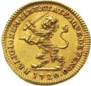 1 Ducat - Karl I. – revers