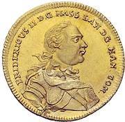 1 Ducat - Friedrich II. (Edergold Dukat) – avers