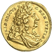 1 Ducat - Friedrich I. – avers