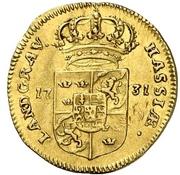 1 Ducat - Friedrich I. – revers