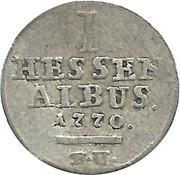 1 albus Friedrich II – revers