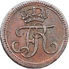 1 Heller - Friedrich I 1730 - 1751 – avers