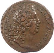 3 heller Friedrich I – avers