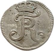 8 heller Friedrich I – avers