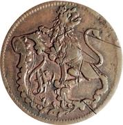 2 heller Friedrich II – avers
