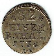1 albus Friedrich I (type 1b) – revers