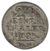 1/24 Thaler - Friedrich II – revers