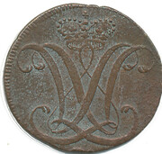 1 heller Wilhelm IX – avers