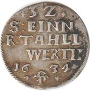 1 albus Wilhelm V. – revers