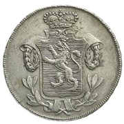 ⅙ thaler Wilhelm IX – avers