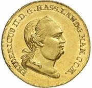 2 friedrichs d'or Wilhelm IX – avers
