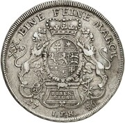 ½ thaler Wilhelm IX – revers