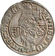 1 Groschen - Wilhelm I. (Pilgergroschen) – revers