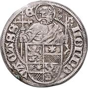 1 Albus - Wilhelm II. (Petersgroschen) – revers