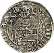 ½ Albus - Wilhelm II. (halber Petersgroschen) – revers
