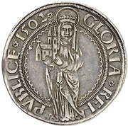 ¼ Guldengroschen - Wilhelm II. – revers
