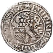 1 groschen Heinrich III – avers