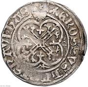 1 groschen Heinrich III – revers