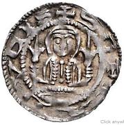 1 pfennig Sophia von Brabant – avers