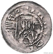 1 pfennig Sophia de Brabant – avers