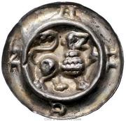 1 brakteat Heinrich I – avers