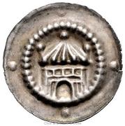 1 Bracteate - Heinrich I – avers