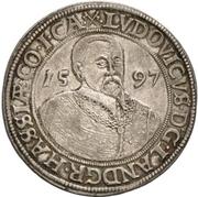 1 Thaler - Ludvig IV. – avers