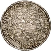 1 Thaler - Ludvig IV. – revers