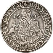 """½ Thaler - Ludwig IV., """"der Ältere"""" – avers"""